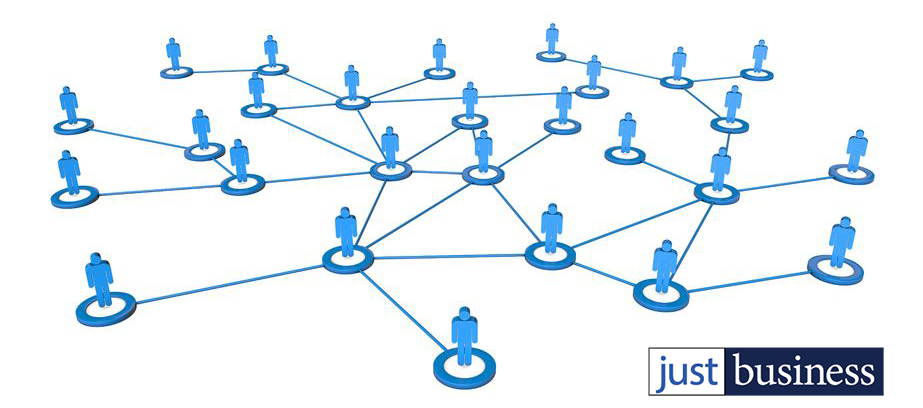 network people just business logo